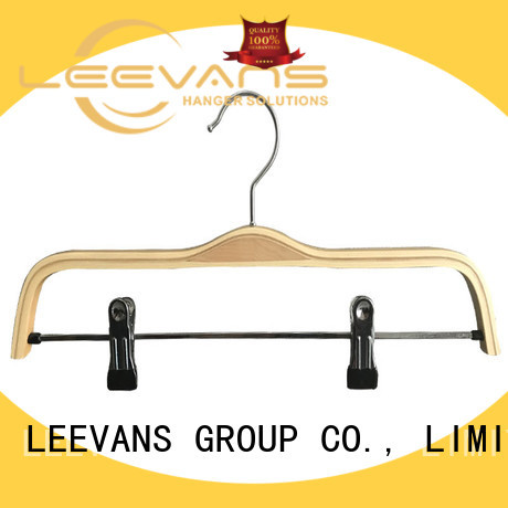 LEEVANS clothes best wooden coat hangers company for trouser