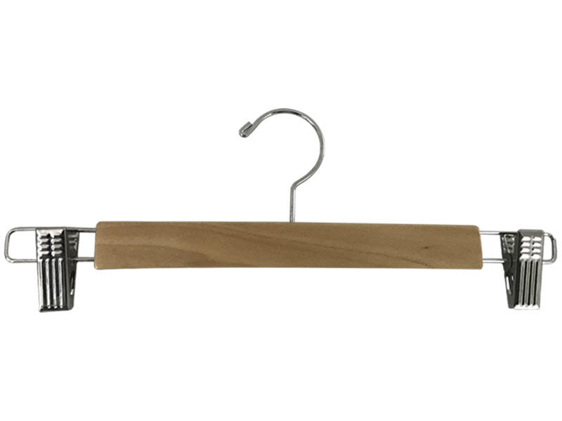 LEEVANS online wooden cloth hanger with metal hook for kids-LEEVANS-img-1