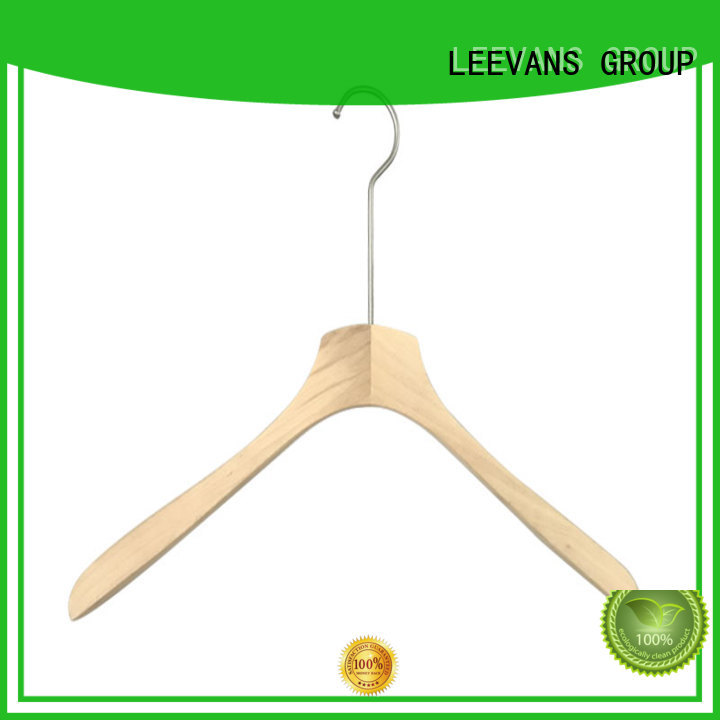 wooden coat hanger or for kids LEEVANS