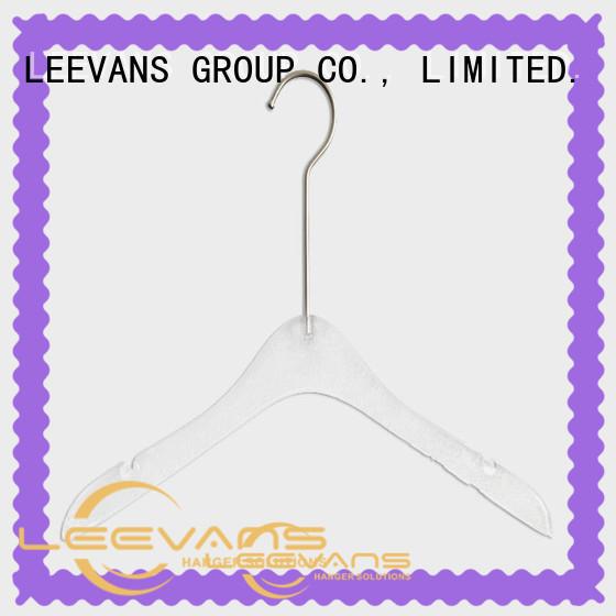 LEEVANS Custom coat hanger design manufacturers for T-shirts
