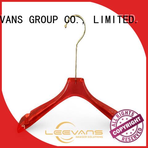 LEEVANS space white coat hangers wholesale for jackets