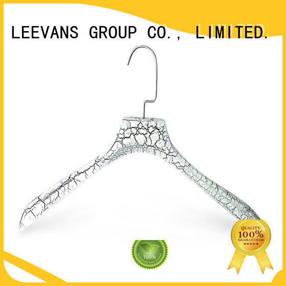 LEEVANS price high quality wooden hangers wholesale for trouser