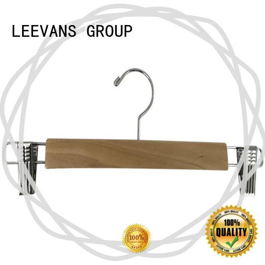 LEEVANS quality best wooden hangers manufacturer for children