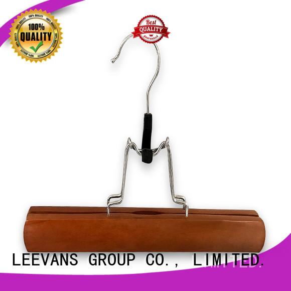 LEEVANS online wooden hangers wholesale supplier for trouser