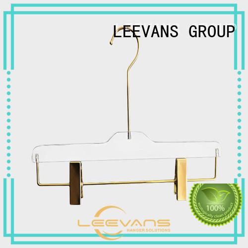 LEEVANS plexiglas luxury hangers factory for sweaters