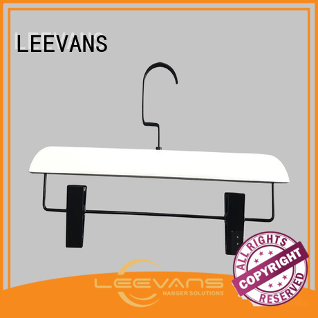 LEEVANS Top black hangers manufacturers for skirt