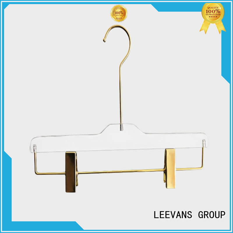 LEEVANS coat clothes hangers with clips supplier for trusses