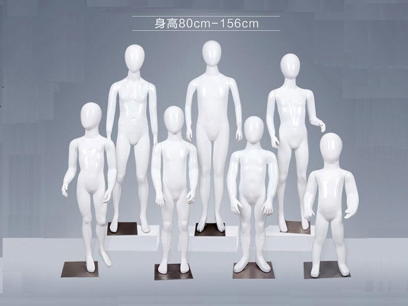 Good Quality Full Body Kids Mannequin For Window Display, Children Clothes Mannequin