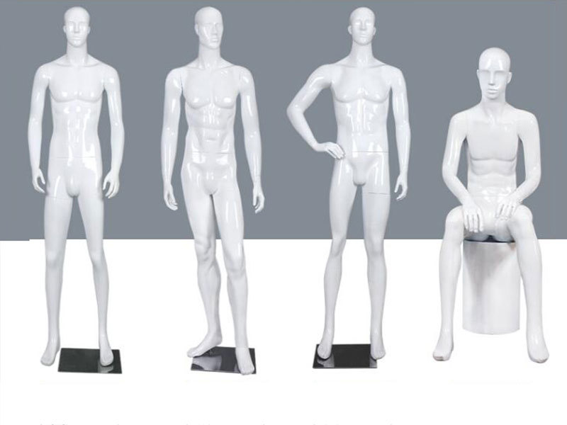 Abstract Full Body Male/Man/Men Standing Mannequin For Clothes Display