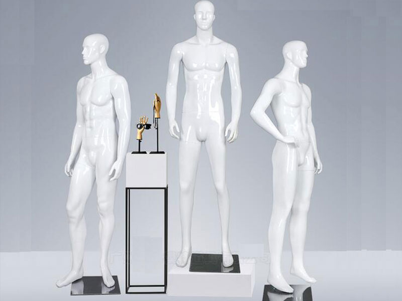 product-LEEVANS-Abstract full body malemanmen standing mannequin for clothes display-img