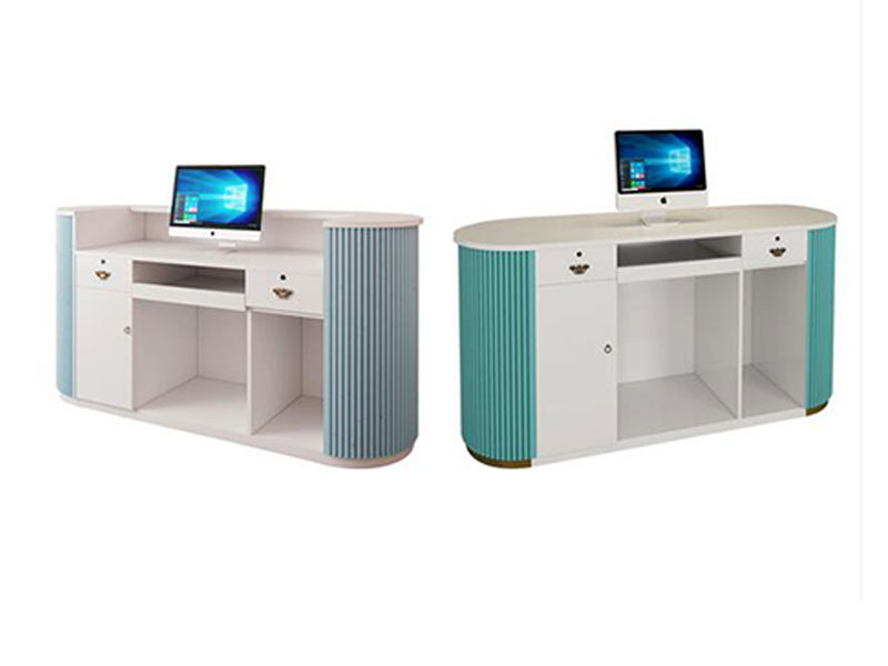 LEEVANS retail checkout counter for business
