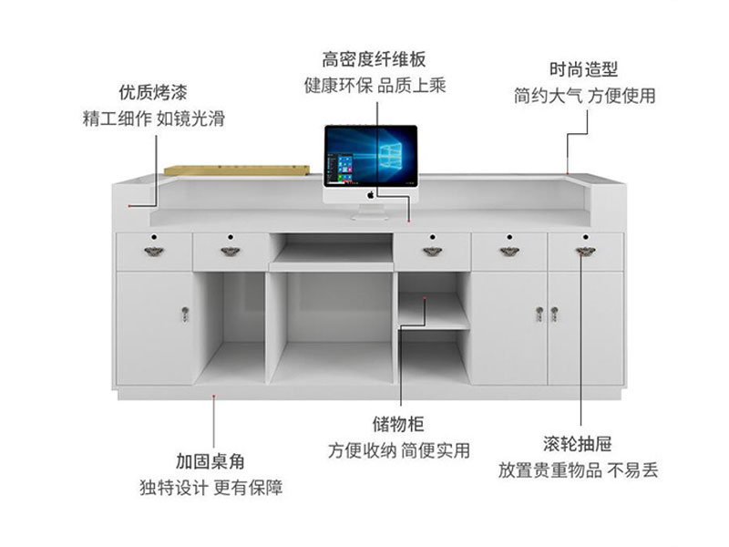 LEEVANS retail checkout counter for business-5