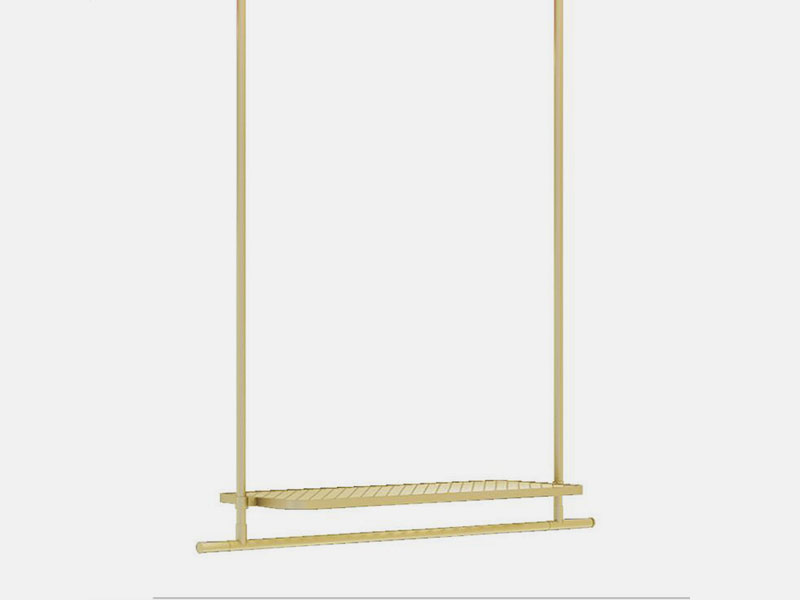 LEEVANS Wholesale clothes display stand factory-2