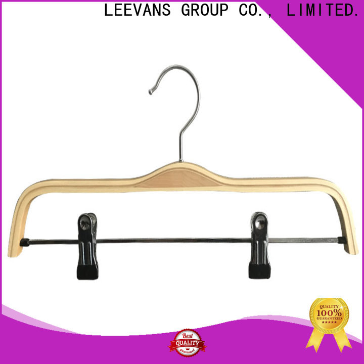 Latest clothes hanger clips brown factory for kids