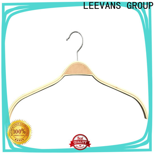 Latest ladies coat hangers solid manufacturers for clothes