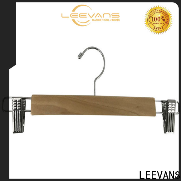 LEEVANS Best buy wooden hangers for business for trouser