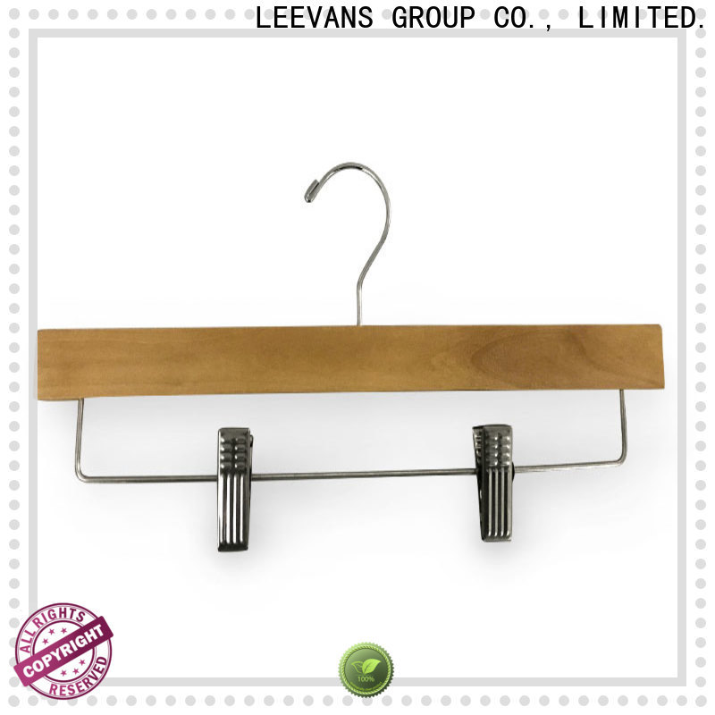 LEEVANS New wooden dress hangers manufacturers for kids