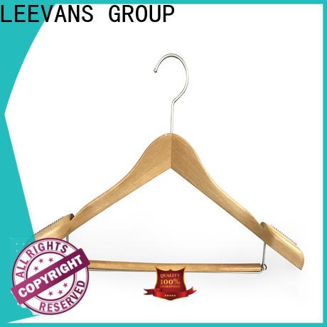 LEEVANS oem black wooden hangers wholesale Supply for children