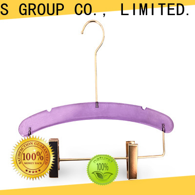 LEEVANS Custom clear acrylic hangers Suppliers for casuals