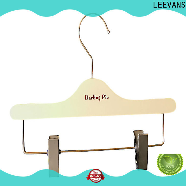 LEEVANS Top best wooden coat hangers company for clothes