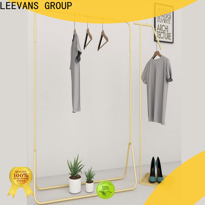 LEEVANS High-quality clothes display stand for business