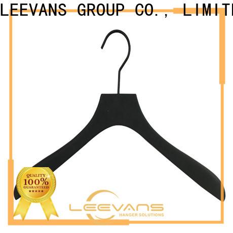 LEEVANS slip ladies coat hangers manufacturers for kids