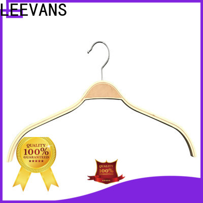 LEEVANS garment high quality wooden hangers for business for kids
