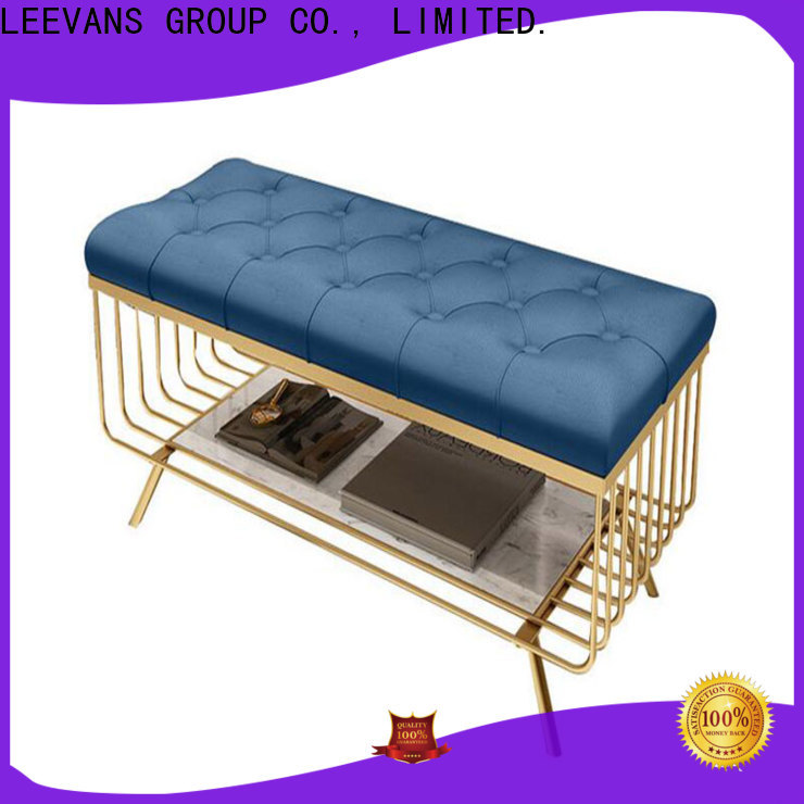 LEEVANS Top clothing shop seating factory