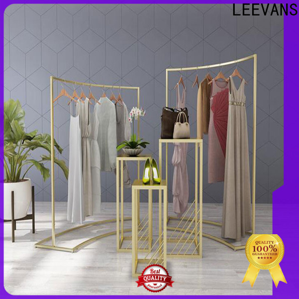 LEEVANS Custom clothes display stand manufacturers