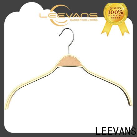 LEEVANS Wholesale infant wooden hangers factory for trouser