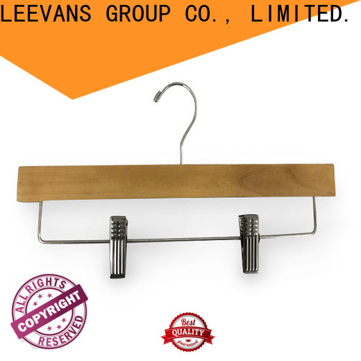 LEEVANS Top where to buy wooden clothes hangers Suppliers for clothes