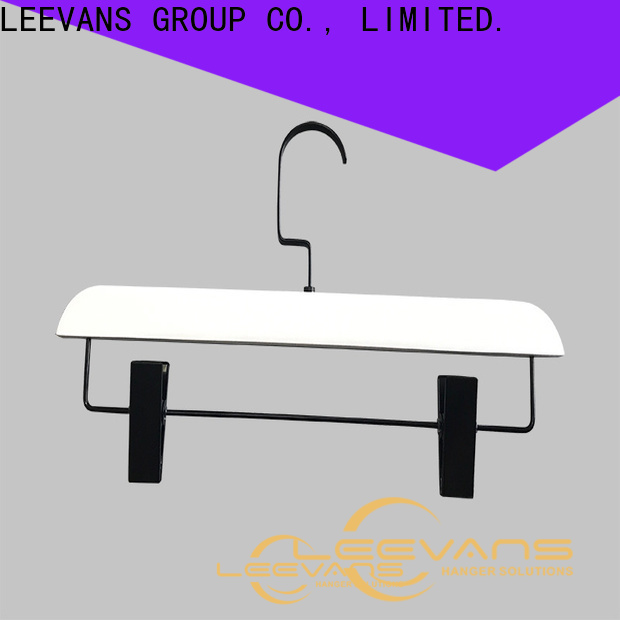 LEEVANS specilized small wooden hangers for business for clothes