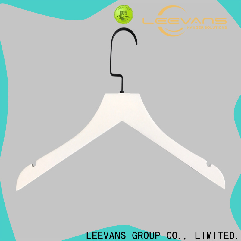 LEEVANS New wooden shirt hangers manufacturers for clothes