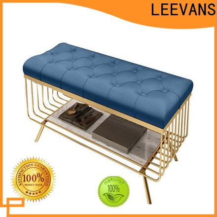 LEEVANS clothing shop seating company