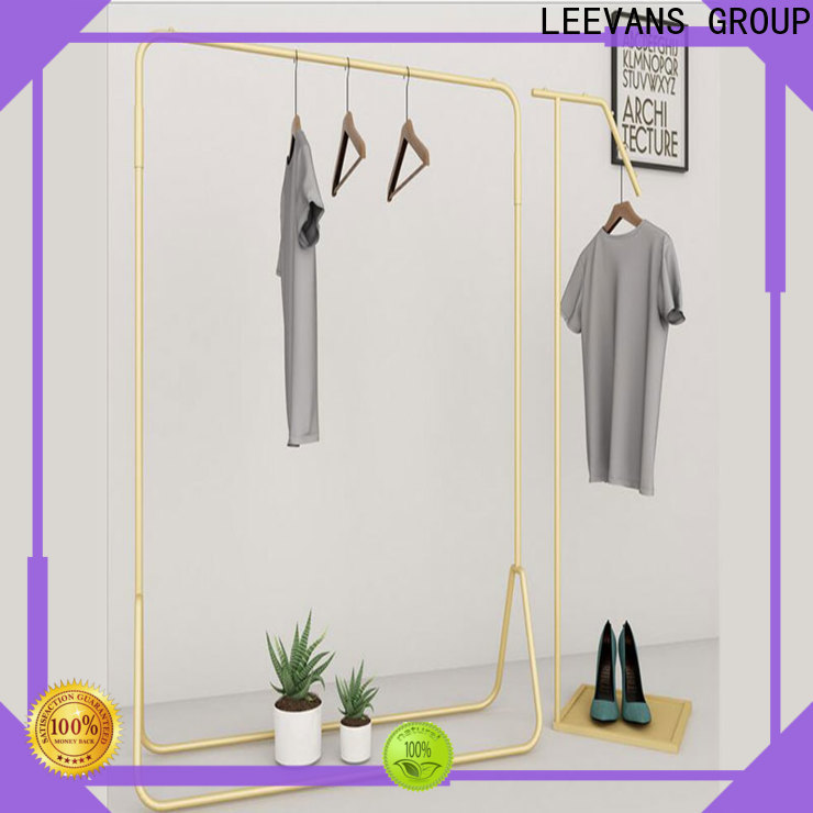 LEEVANS clothes display stand factory