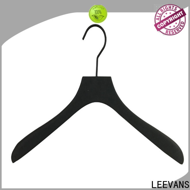 LEEVANS oem wooden coat hangers for sale Supply for kids