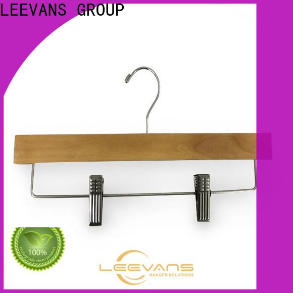 LEEVANS Wholesale cheap coat hangers Suppliers for skirt