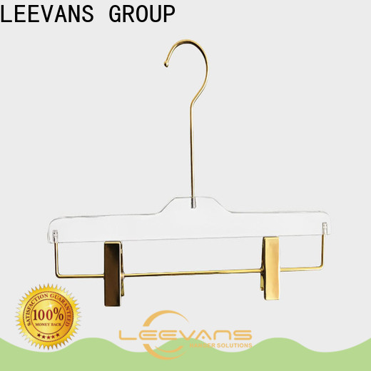 LEEVANS metal cheap coat hangers manufacturers for jackets