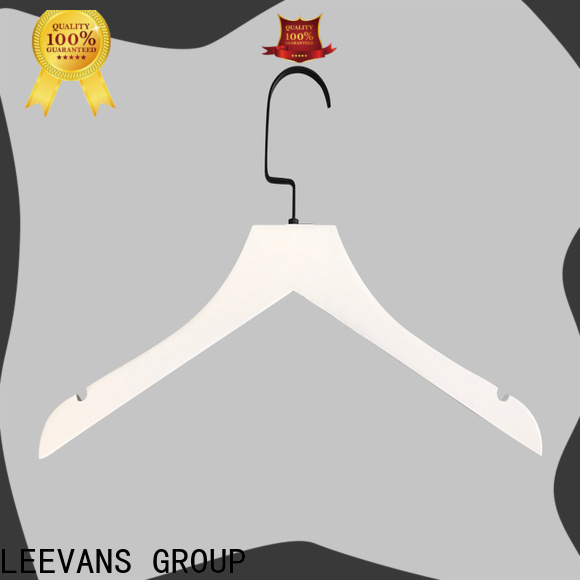 LEEVANS High-quality wooden hangers online company for trouser