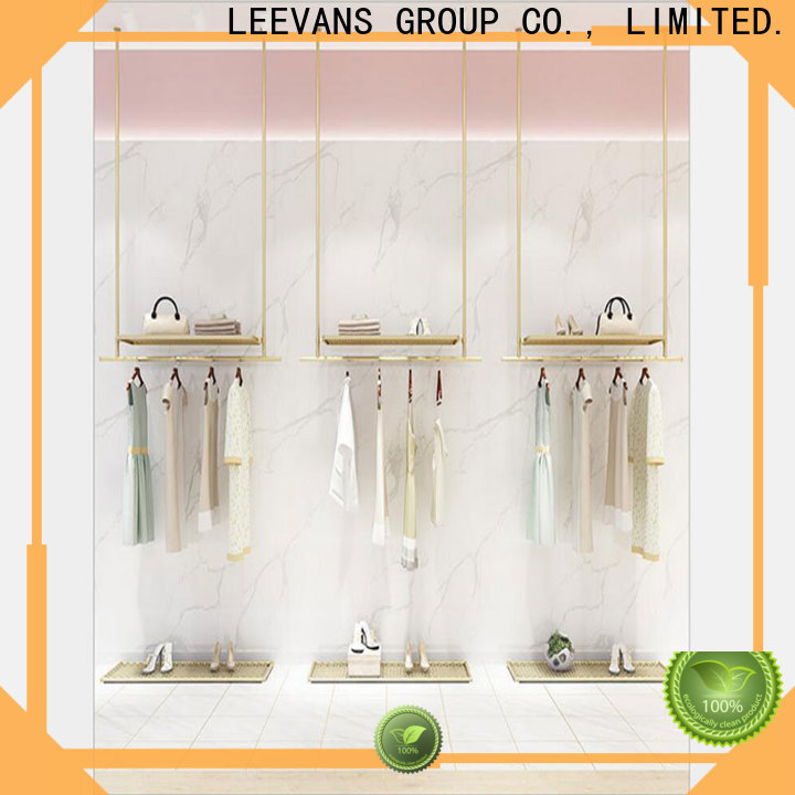 LEEVANS Top clothes display stand company