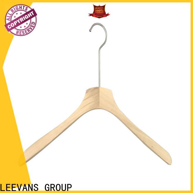 LEEVANS bar wooden clamp hangers Supply for trouser