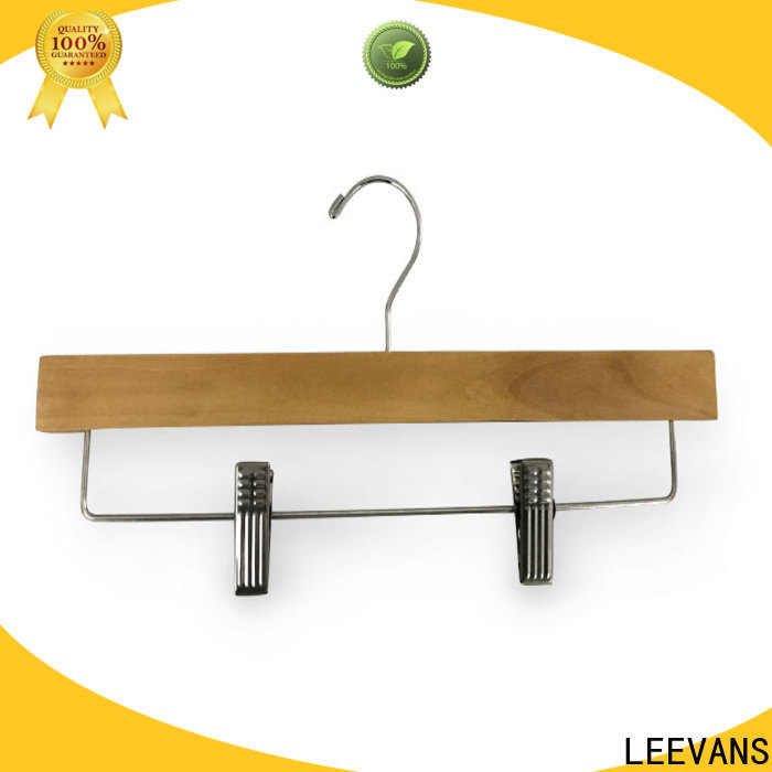LEEVANS two sweater hangers for business for pants