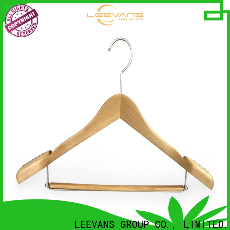 Best white wooden coat hangers painting Supply for trouser