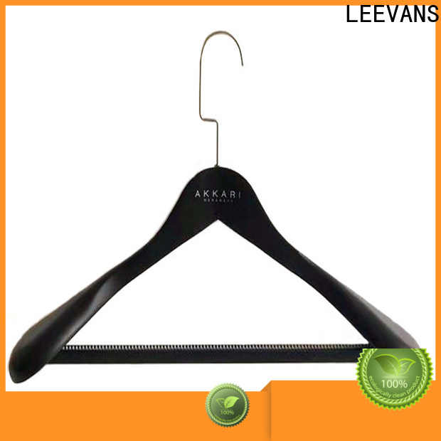 LEEVANS natural luxury suit hangers company for trouser