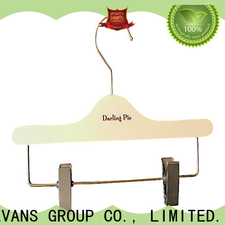 Top infant wooden hangers thin Supply for clothes