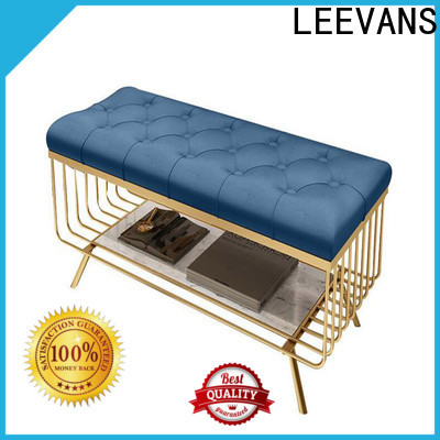 LEEVANS Wholesale clothing shop seating Suppliers