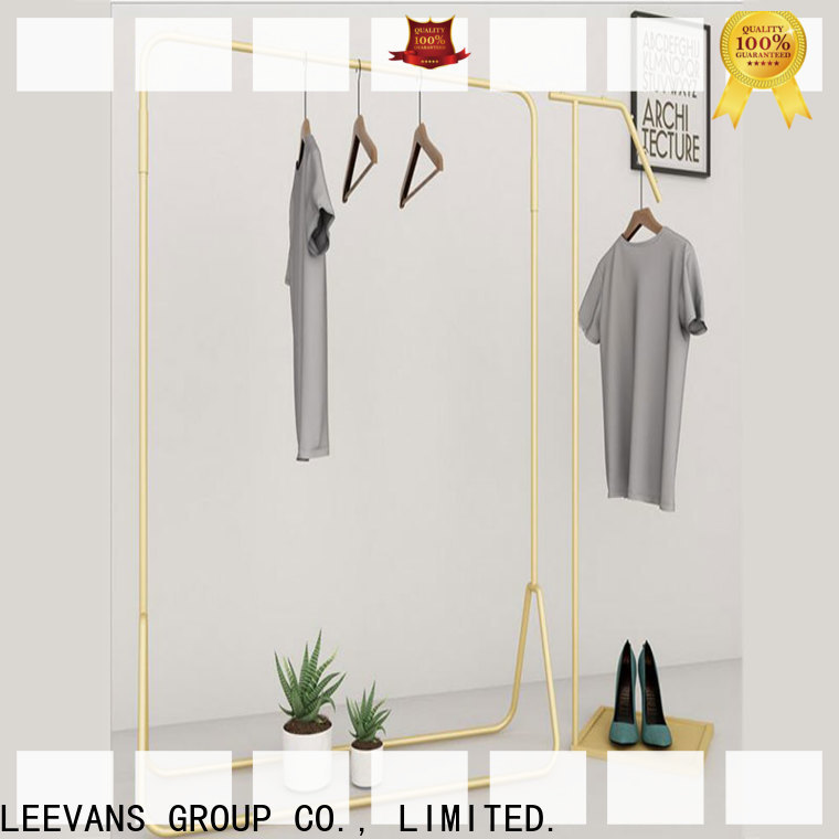 LEEVANS Top clothes display stand factory