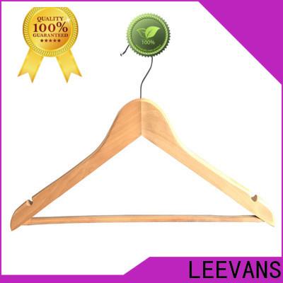 LEEVANS wooden wooden coat hangers wholesale Suppliers for children