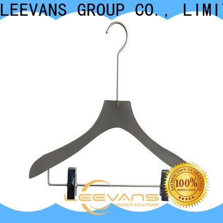 LEEVANS luxury clothes hanger clips factory for jackets