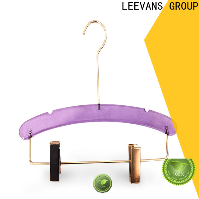 LEEVANS Top clear clothes hangers factory for casuals
